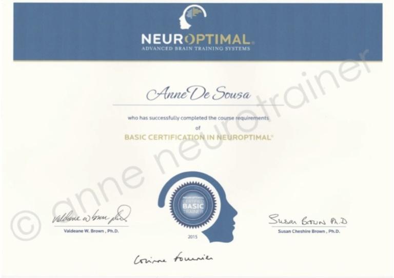 anne neurotrainer ∣ Basic Certification in NeurOptimal®