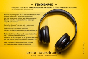 anne de sousa ∣ Témoignage neurofeedback